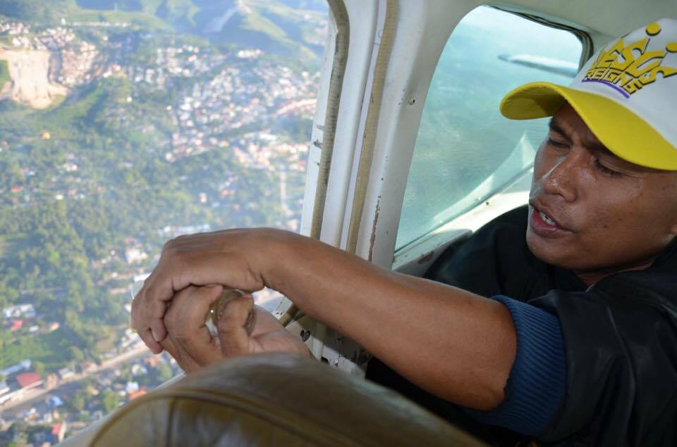 Pouring of Oil over Luzon, Visayas and Mindanao