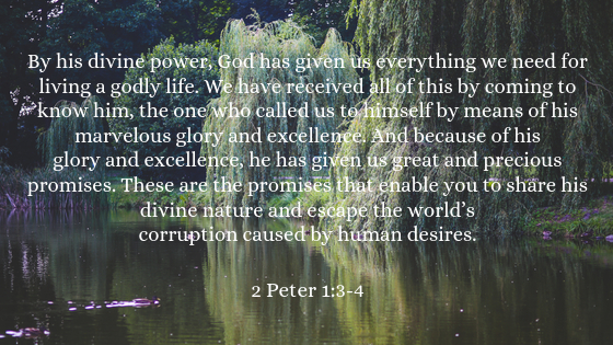 Day 21: Overcome With His Divine Power